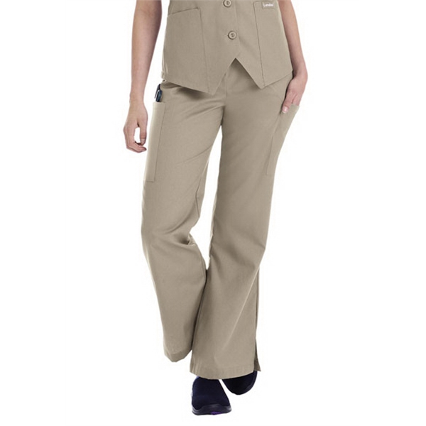 Landau - Sa8355 Landau Women's Flare Leg Cargo Scrub Pant - 7 Colors Available Photo