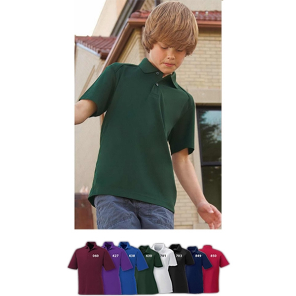 Shield Extreme Eperformance (tm) - Youth Snag Protection Short Sleeve Polo Photo