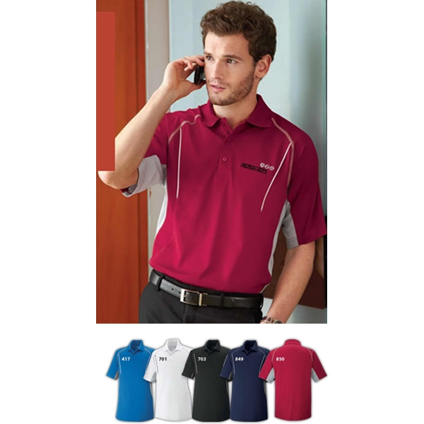 Parallel Extreme Eperformance (tm) - S- X L - Men's Snag Protection Polo With Piping Photo