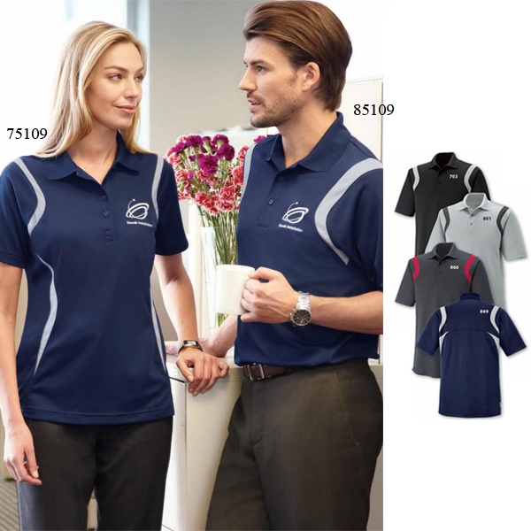 Venture Polos Extreme Eperformance (tm) - 2 X L - Ladies' Snag Protection Polo With Matching Flat Knit Collar Photo