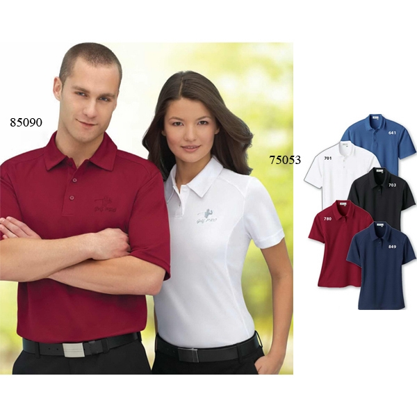 Il Migliore (r) - S- X L - Men's Recycled Polyester Performance Birdseye Polo Photo