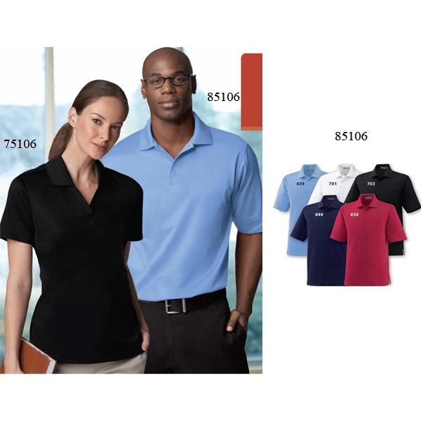 Extreme Edry (r) - 3 X L-4 X L - Men's Silk Luster Jersey Polo With Matching Flat Knit Collar Photo