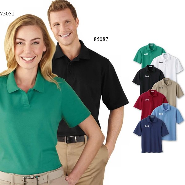 Extreme Edry (r) - S- X L - Men's Interlock Polo Shirt Photo