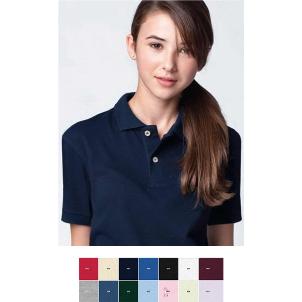 Youth Extreme Cotton Blend Pique Polo Photo