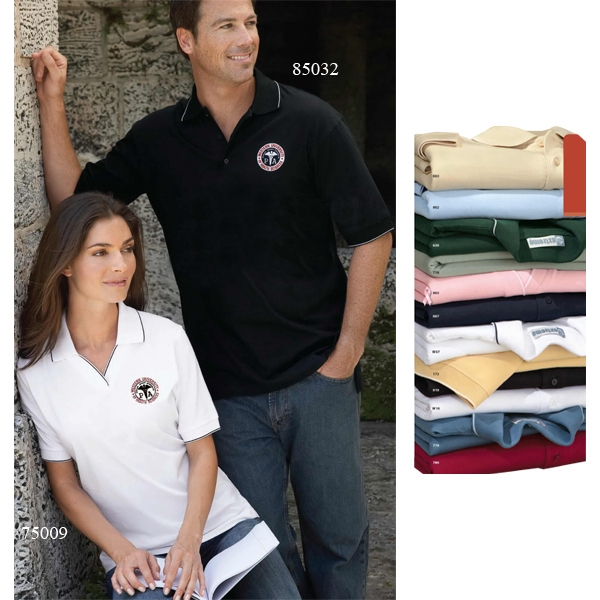 S- X L - Men's Extreme Cotton Jersey Polo Photo