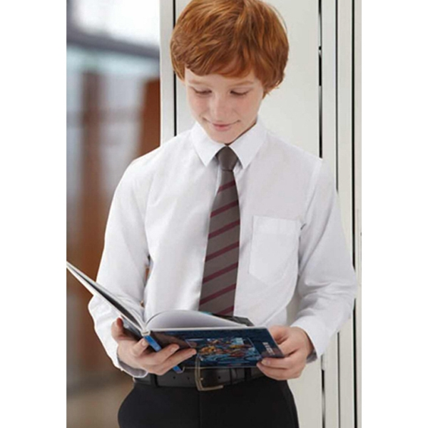 North End (r) Windsor - Youth Long Sleeve Oxford Shirt With Spread Collar Photo