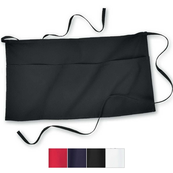 North End (r) - Waist Apron With Three Front Pouch Pockets And A Front Pen Slot Photo