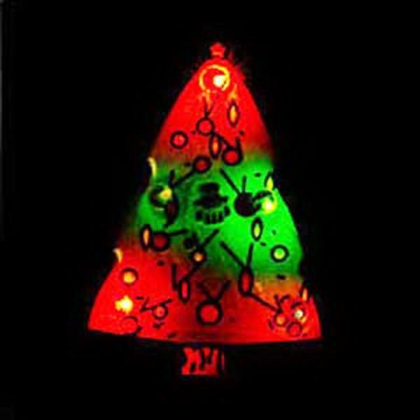 Flashing Pins - Christmas Tree