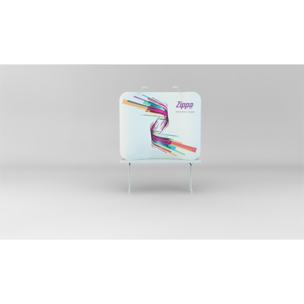Zippa 6' Tabletop Display - 6-foot Tabletop display includes frame, tension-fabric graphic,  and carry bag