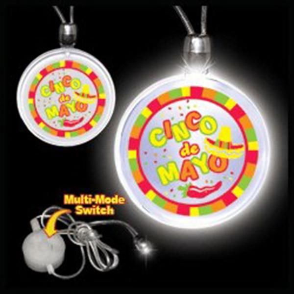 Light Up Necklace - Cinco De Mayo