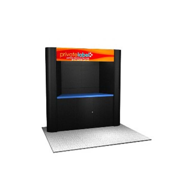 Laminate Panel Display System - Laminate panel display system, 12 panels, 2 cases.