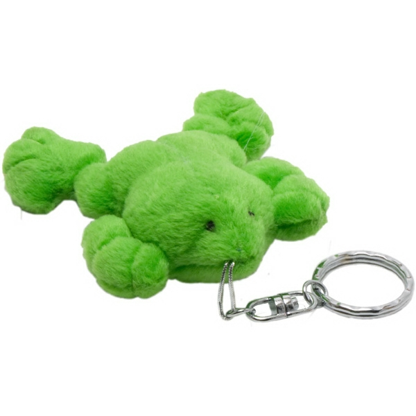 "4"" Green Frog Key Chain"