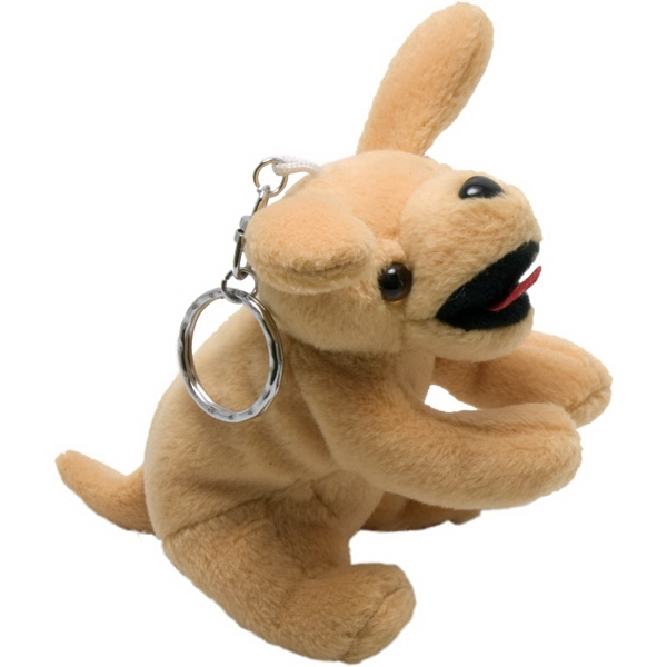 "4"" Yellow Labrador Key Chain"