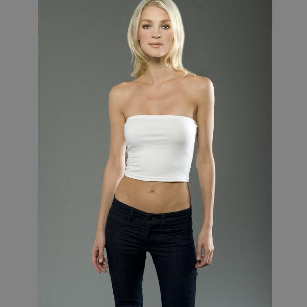 Women's Cotton Spandex Jersey Tube Top