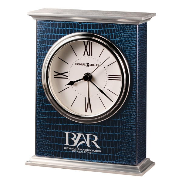 Mission - Cobalt Blue Tabletop Alarm Clock Photo