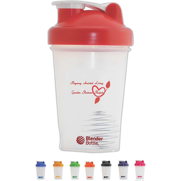 Blender Bottle (r) Classic (tm) Blenderball (r) - Red - 20 Oz. Mixer Bottle With Wire Whisk Photo