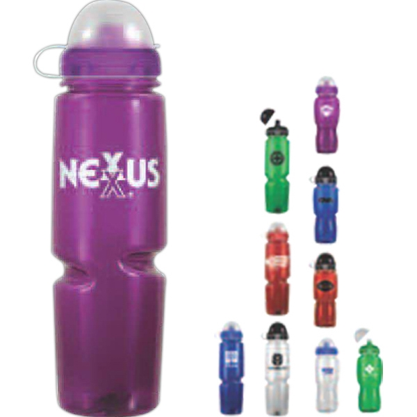 Polysavers - Red - Bpa Free Sport Bottle, 24 Oz Photo