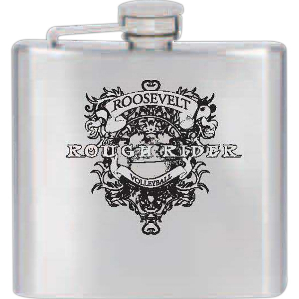 5 Oz - Stainless Steel Flask With Double Wall Photo