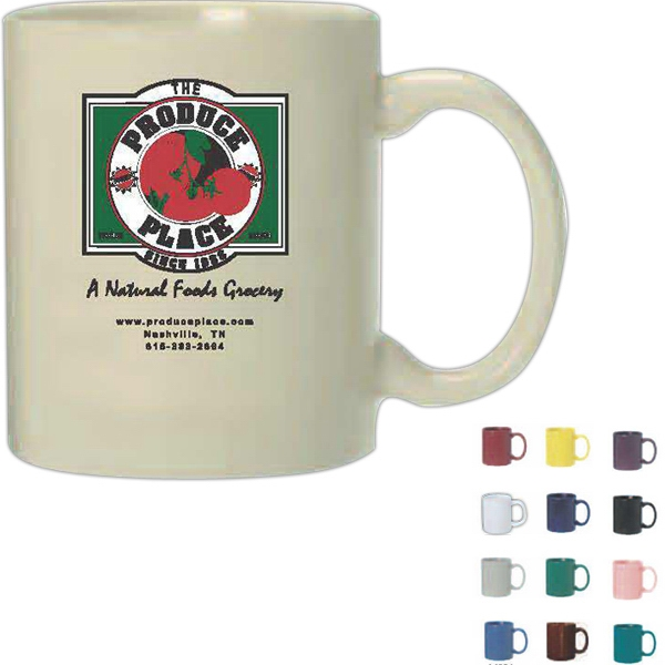 Anchor - Teal - Eleven Ounce Ceramic Anchor Mug Photo
