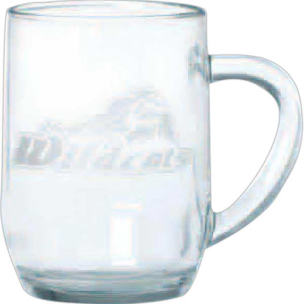 Haworth - Clear Glass Mug, 10 Oz Photo