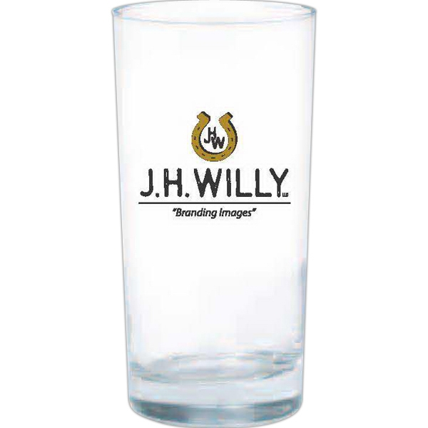 Clear Glass Tumbler With Heavy Bottom Tumbler, 12 Oz Photo