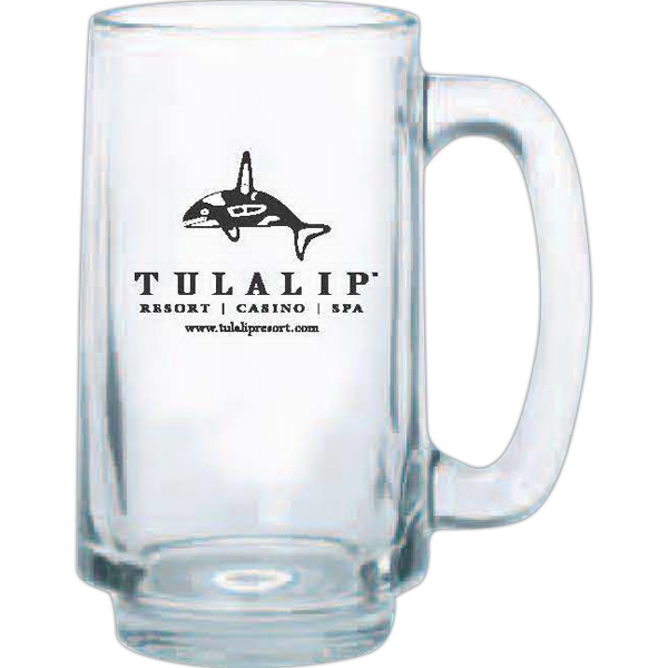 Clear Glass Stein, 12 1/2 Oz Photo