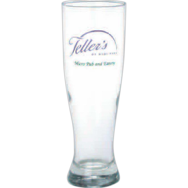 Clear Glass Grand Pilsner, 16 Oz Photo