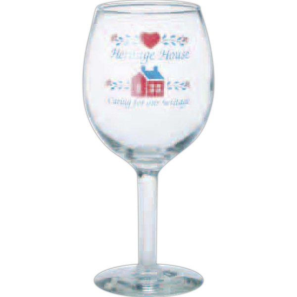11 Oz - Wine Glass With Straight Stem Photo