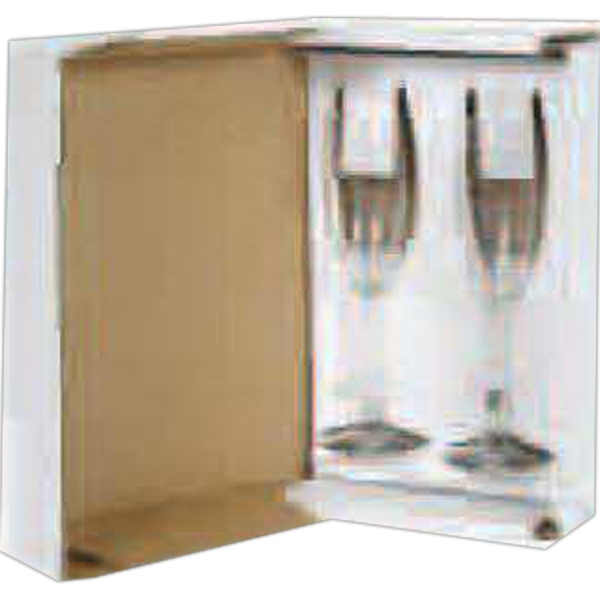 Stemware Presentation - Set Of 2 White Handout Packaging Photo