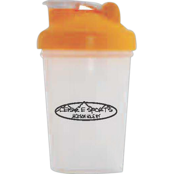 Blender Bottle (r) Classic (tm) Blenderball (r) - Orange - 20 Oz. Mixer Bottle With Wire Whisk Photo