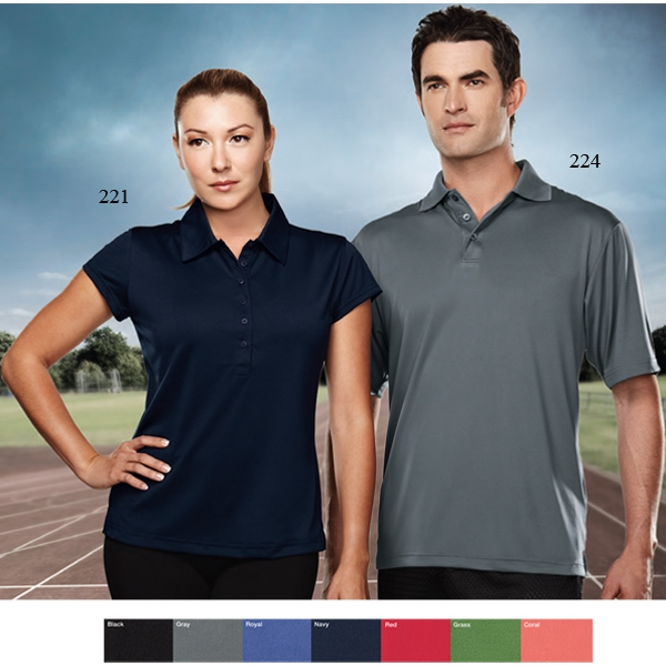 California Performance (tm) -  X S -  X L - Women's 6 Oz 100% Polyester Golf Shirt Photo