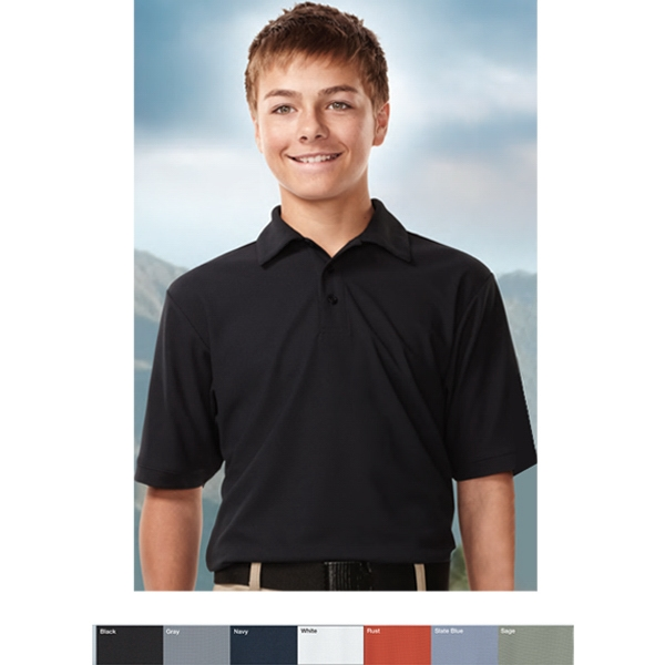 Endurance Performance (tm) - Youth Polo Shirt Constructed Of 6.3 Oz 100% Polyester Photo