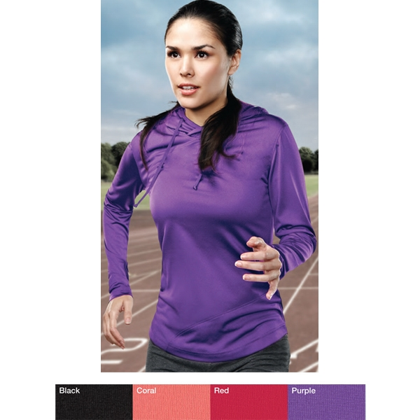 Charlotte Performance (tm) -  X S -  X L - Women's 6 Oz 100% Polyester Pullover Hoody Photo