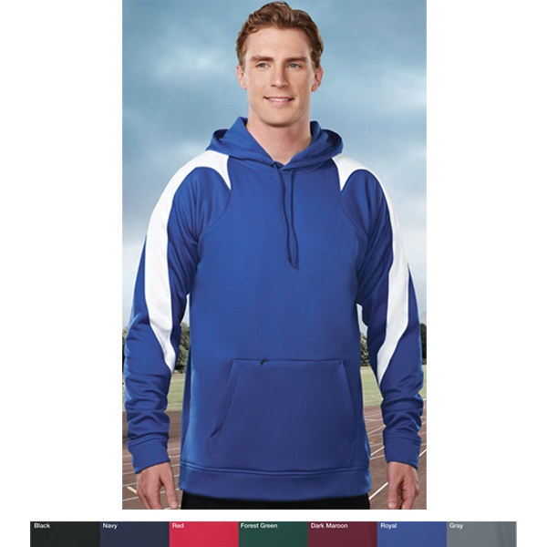 Performance (tm) Vigilant - S- X L - Men's Two-color Fleece Hooded Sweatshirt Photo