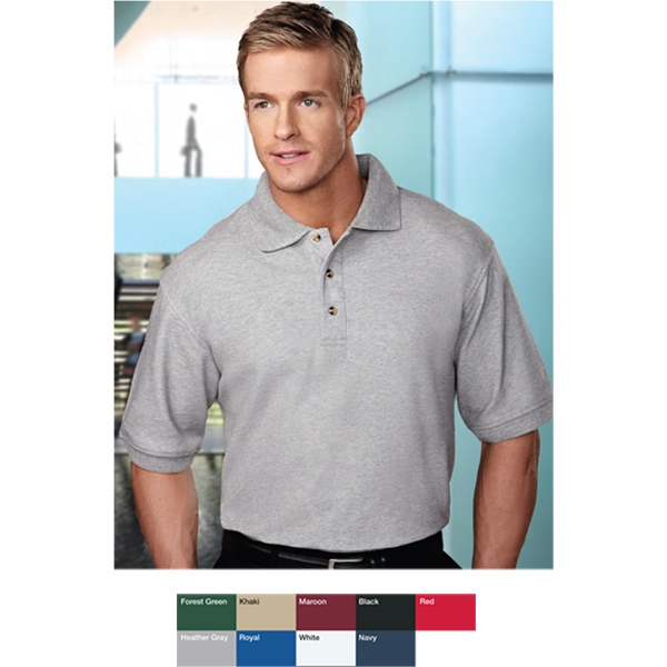 Advantage - Men's Pique Knit Golf Shirt