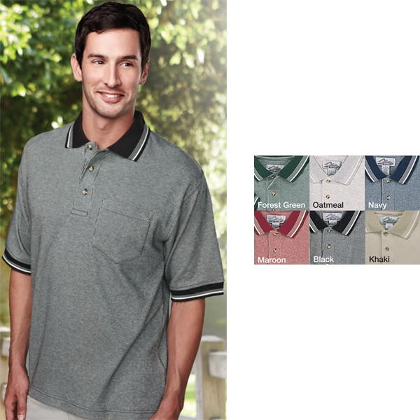 Prodigy -  X S -  X L - Men's Golf Shirt With Left Chest Pocket Photo