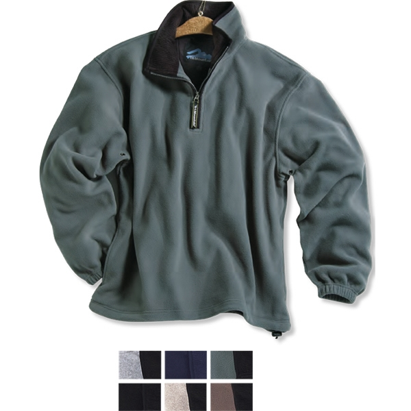 Escape - 3 X L - Medium-weight Fleece Pull-over With Elastic Cuffs And Adjustable Drawstring Photo