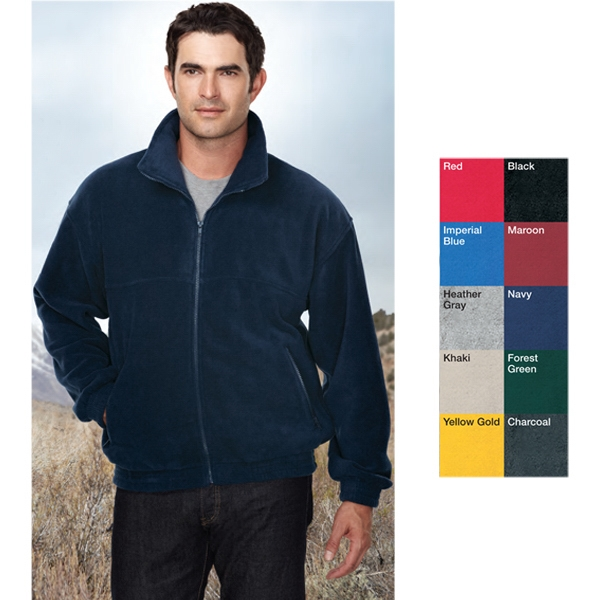Tundra - Lt - Jacket With Full Zipper Front And Two Front Pockets With Zippers Photo