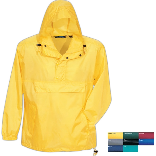 Navigator (tm) - 5 X L - Jacket With Packable Pocket With Zipper And Two Side Slash Pockets Photo