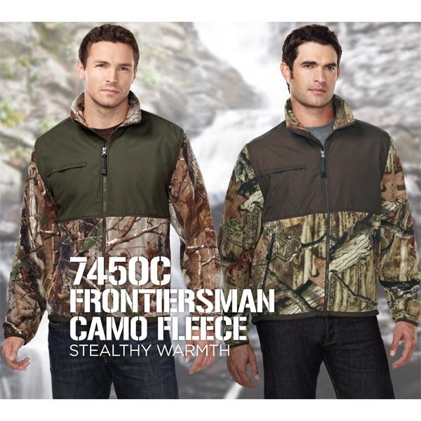 Frontiersman Camo - Fleece Jacket