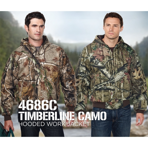 Timberline - Camo Work Jacket