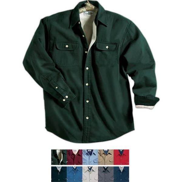 Tahoe - Stonewashed Long Sleeve Shirt Jacket