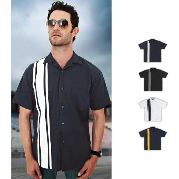 Cobra - Poly Cotton Twill Camp Shirt