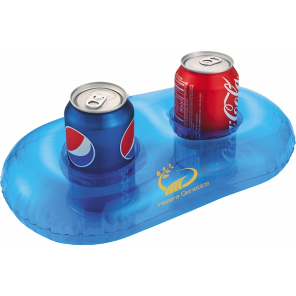 Beach Bum - Inflatable Can Holder. Holds Two Beverages Photo