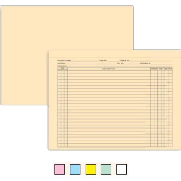 Document Jacket - Manila - Manila document jacket for patient files.