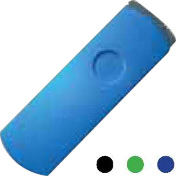 Capless aluminum/plastic USB drive