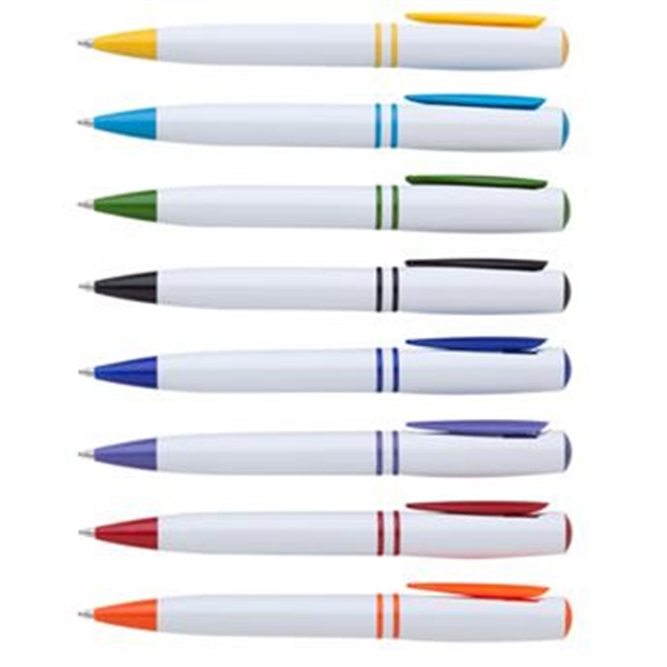 Glide clip pen