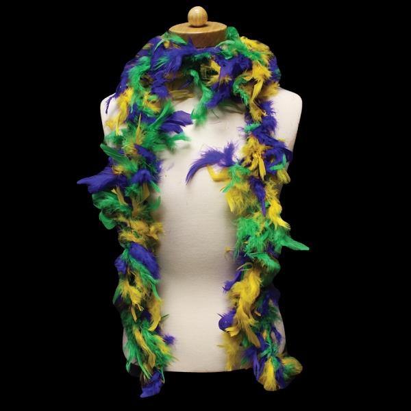 Mardi Gras Adult Size Feather Boa