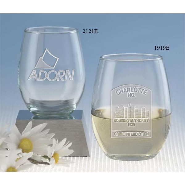 Windsor Collection - Stemless White Wine Glass, 9 Oz Photo