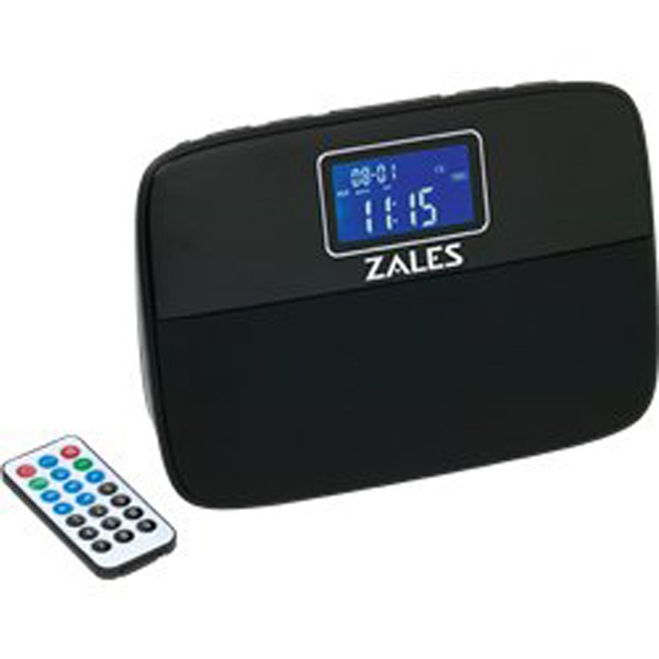 Habitat Bluetooth (tm) - Speaker System With Fm Radio And Led Alarm Clock Photo